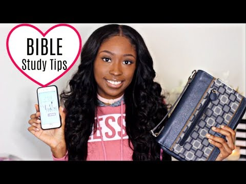 How I Read & Understand The BIBLE | Study Tips