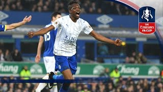 Everton 1-2 Leicester City - Emirates FA Cup 2016/17 (R3) | Goals & Highlights