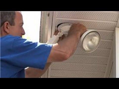 Lighting Fixtures : How to Install Exterior Security Lights