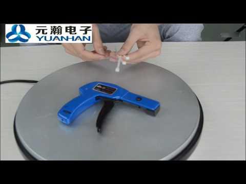 Handheld Cable Tie Gun Clip Tools Auto Nylon cable tie gun machine