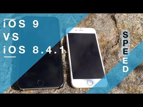 iOS 9 VS iOS 8.4.1 Speed Test on iPhone 6