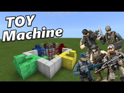 How to Make a TOY MACHINE | Minecraft PE Redstone Creation