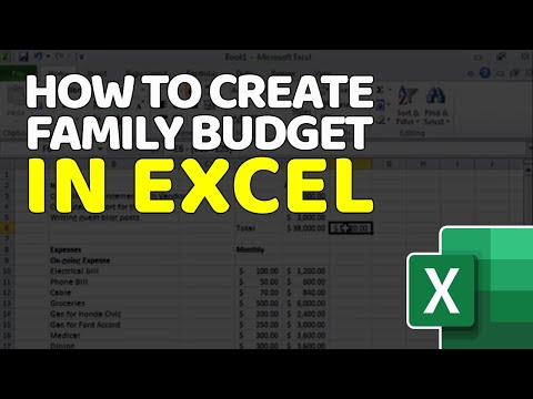Create Annual Budget - [Tutorial for Beginners] - Smart Family Finances in Excel [15 minutes]