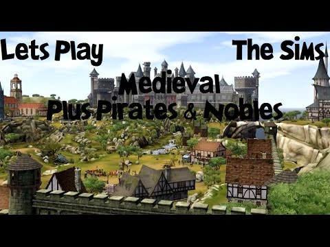 Let's Play The Sims Medieval Plus Pirates & Nobles Part 84: Married