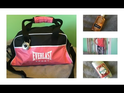 What's In My Gym Bag | Athina Politis
