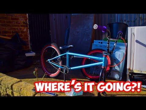 WHERE'S THE BMX GOING?!?