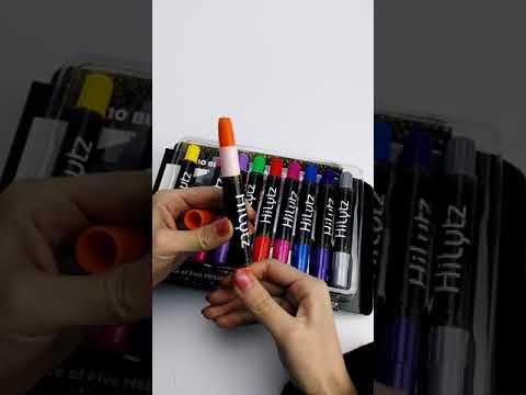 HiLytz Hair Chalk Christmas Gift Set for Girls, Boys, Men and Women