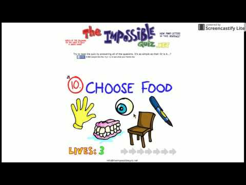 the impossible quiz level 40