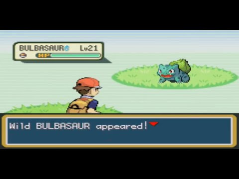 How to catch bulbasaur in fire red