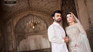 Urwa hocane & Farhan Wedding Nikaah Pictures