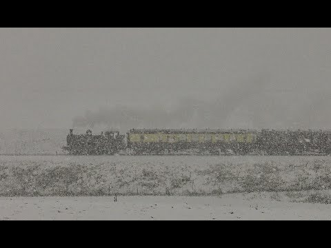 A Severn Valley Snowstorm - 7714 On The Christmas Luncheon Train - 2017