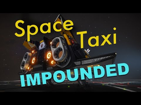 Space Taxi (Ep 1) - Impounded | Elite: Dangerous