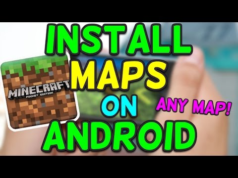 How to Install Maps on Minecraft PE No Root Android [1.4]