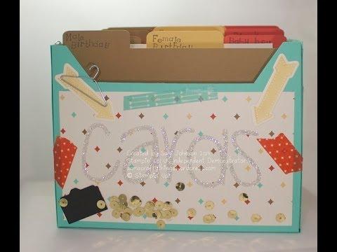 Card storage box