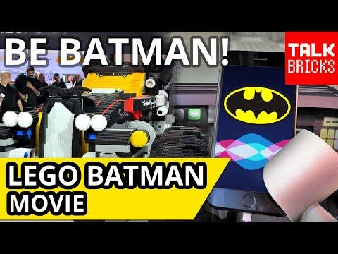 LEGO Batman Movie! Batcomputer Siri Integration! I Saw The GIANT Batmobile! PLUS It's My Birthday!!!