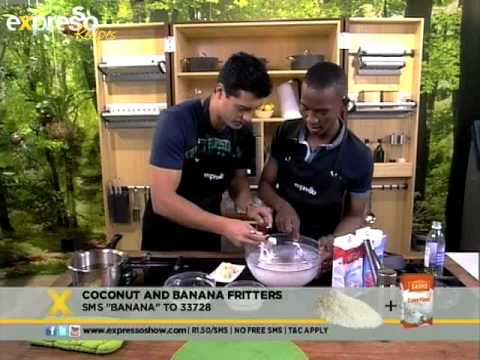 Coconut and banana fritters (27.08.2012)