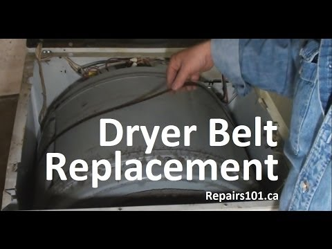Dryer Belt Replacement
