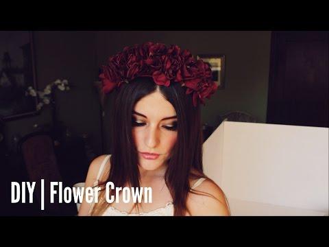 DIY | Flower Crown (Lana Del Rey Inspired)
