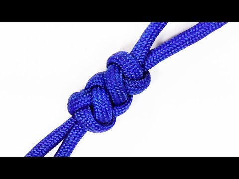 Paracord Tutorial: Elongated Crown And Diamond Knot ABoK #785