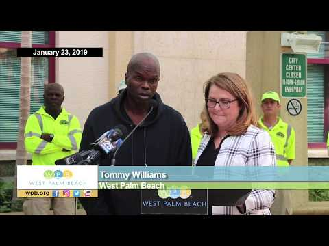 WPB, Partners Expand Homeless Street Engagement Program (Press Conference)