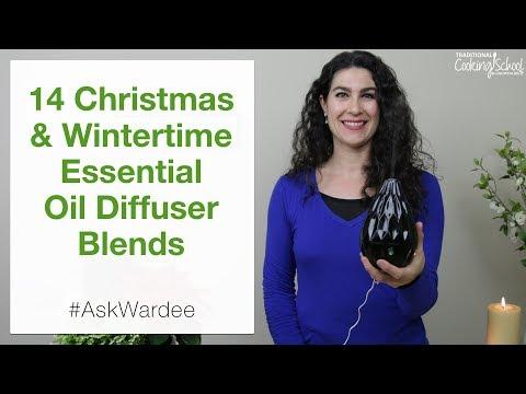 14 Christmas & Wintertime Essential Oil Diffuser Blends | #AskWardee 101