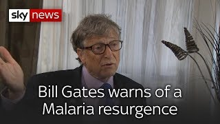 Bill Gates Warns of a Malaria Resurgence