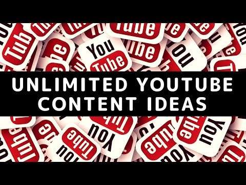 Unlimited Youtube Content Ideas (That People Are Actually Interested In)