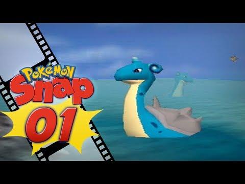 Pokémon Snap - Episode 1 | The Beach!