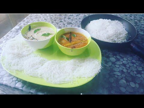 Idiyappam Sambar & Chutney / South Indian Breakfast