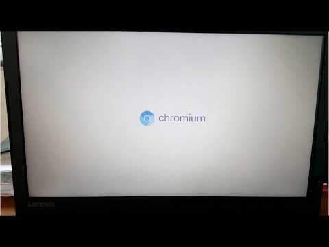 How to install Google Chrome OS on laptop local Hard Drive