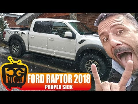 I got a Ford Raptor 2018 unique in EUROPE - CG VLOG #306