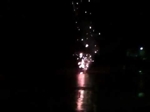 4th of July Fireworks FAIL Boom in container