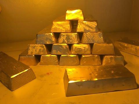 DIY Gold Bars Pirate bullion treasure prop