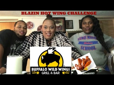 BLAZIN HOT WING CHALLENGE   MUKBANG   EATING SHOW