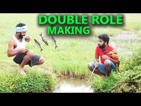 ഒരുത്തനെ രണ്ടാകാം എങ്ങനെ| How To Make Double Role Character Video On Mobile