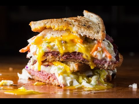 Pastrami Reuben by SAM THE COOKING GUY