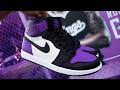 Air Jordan 1 Ultra Purple Custom!