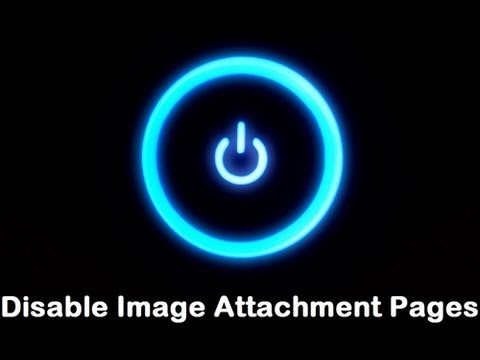 How to Disable Image Attachment Pages in WordPress?