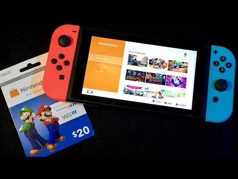eShop Card On Switch & Buying A Game ASMR