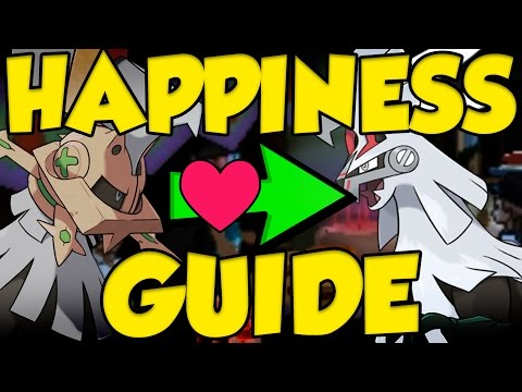 Pokemon Sun and Moon HAPPINESS Guide! How to Get Silvally and Return TM Location