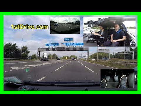 Lucy's motorway driving lesson - Lucy's lessons episode 24