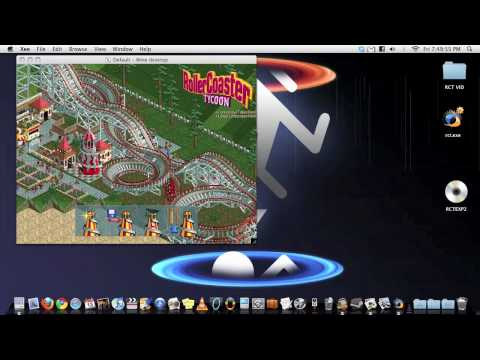 How to: Run RollerCoaster Tycoon on a Mac