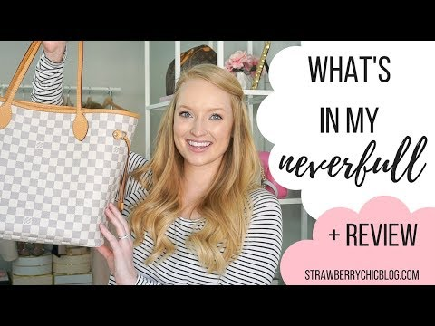 What's in my Neverfull Bag + Review