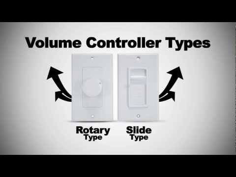 How to Install Speaker Volume Controllers from Monoprice