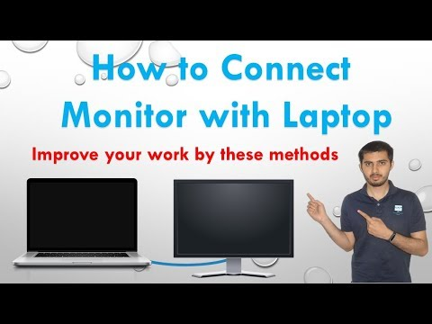 How to Connect Second screen or monitor with a laptop  || Connect dual monitor to your pc or laptop