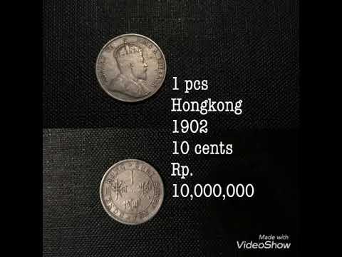 Uang kuno belanda, hongkong, mexico, amerika / vintage coin USA, Hongkong, Nederthland,hongkong