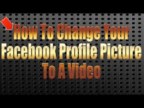 🎆How To Change Your Facebook Profile Picture To A Video🎆