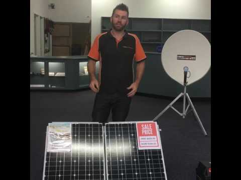How to use a 12v Solar Sytem: 160 Watts with Battery