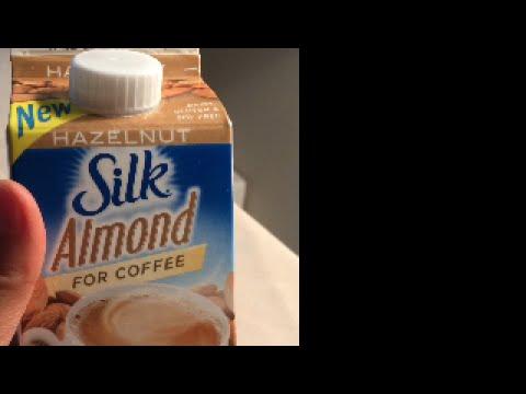 Silk Almond Milk for Coffee•Hazelnut *Review* 🇨🇦