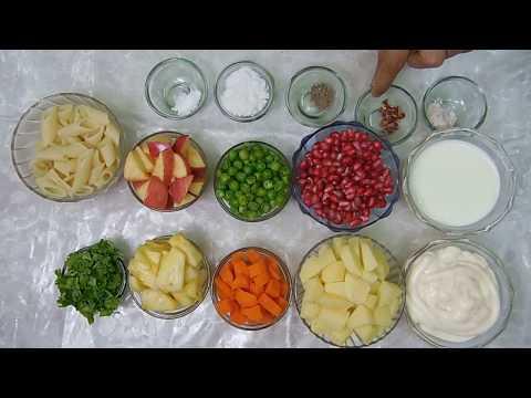 Veg Russian Salad Recipe in Hindi - Ramzan Special  How to make RUSSIAN SALAD at Home/Healthy salad